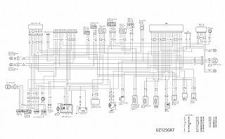 V125G K7 配線図
