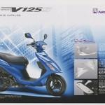 アドレスV125S カスタマイズ カタログ