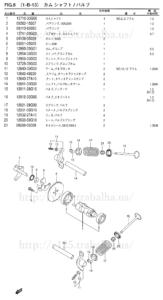 FIG.8(1-B-13) カムシャフト/バルブ