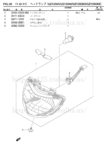 FIG.26(1-D-11) ヘッドランプ