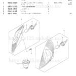 FIG.27(1-D-13)フロント ターンシグナル ランプ(UZ125K5/UZ125K6)