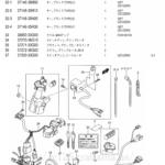 FIG.30B(1-E-10)ワイヤリング ハーネス(UZ125ZK7/UZ125ZK9)