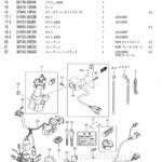 FIG.30B(1-E-9)ワイヤリング ハーネス(UZ125ZK7/UZ125ZK9)