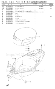 FIG.40A(1-G-3) ヘルメットボックス