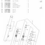 FIG.48(1-H-7)フロントダンパ(UZ125K5/UZ125GK5/UZ125K6/UZ125GK6)