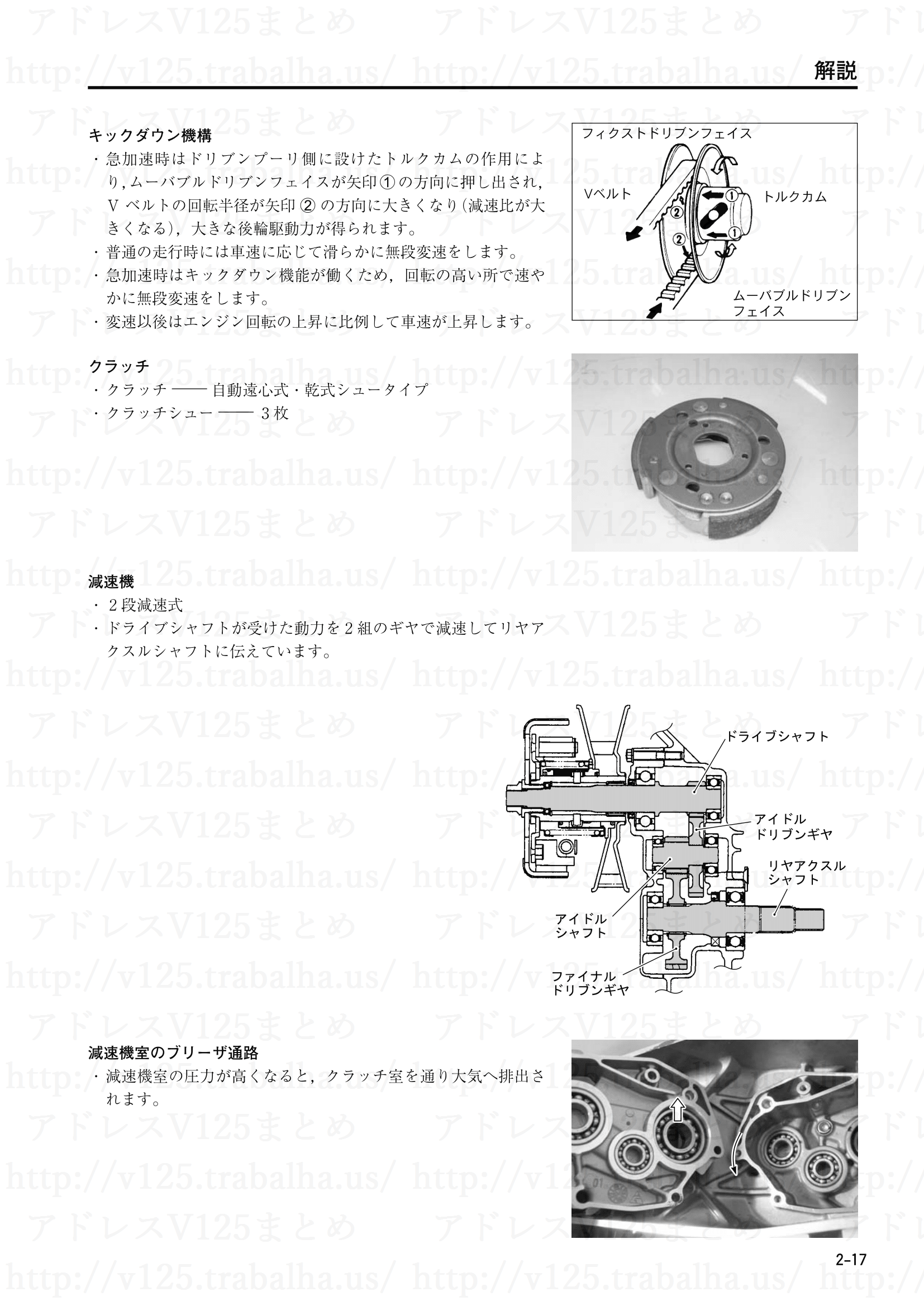 2-17【解説】動力伝達装置3