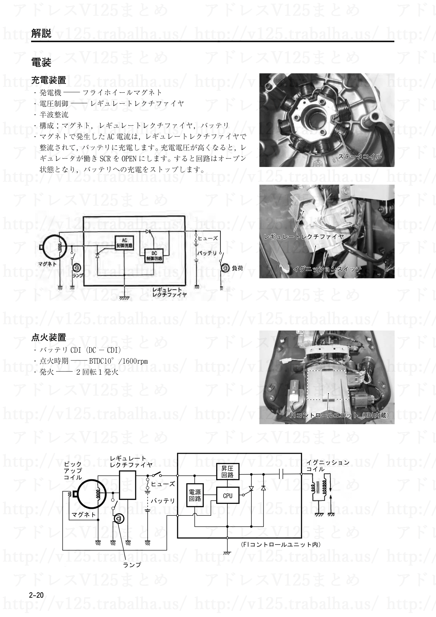 2-20【解説】電装/充電装置/点火装置