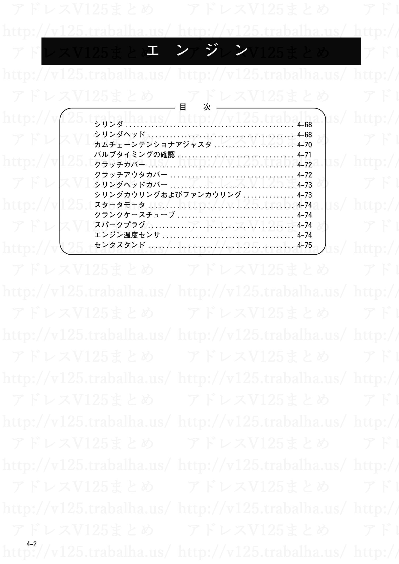 4-2【エンジン】目次2