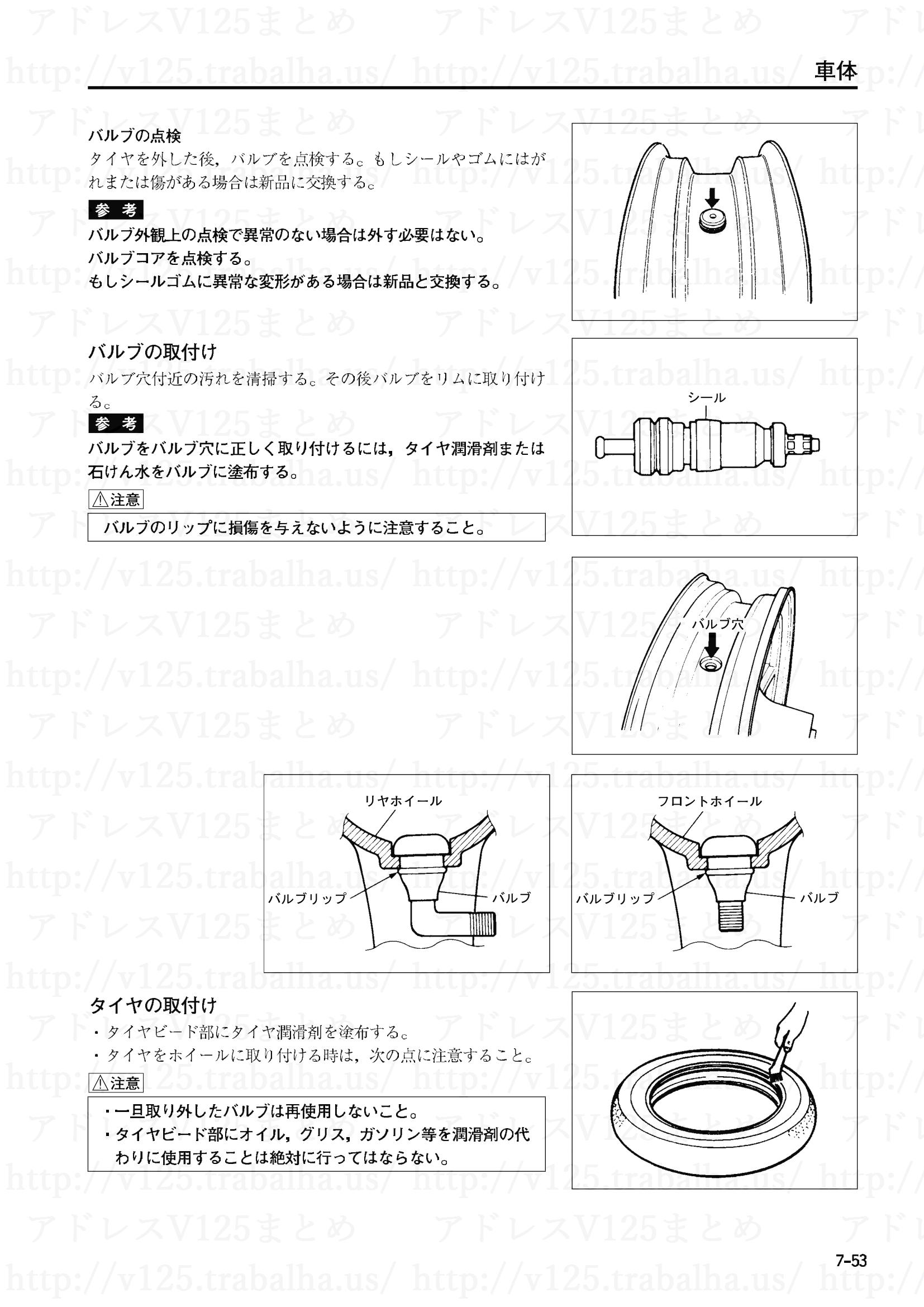 7-53【車体】タイヤの取付け1