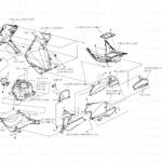 9-22【整備情報】外装部品組立図